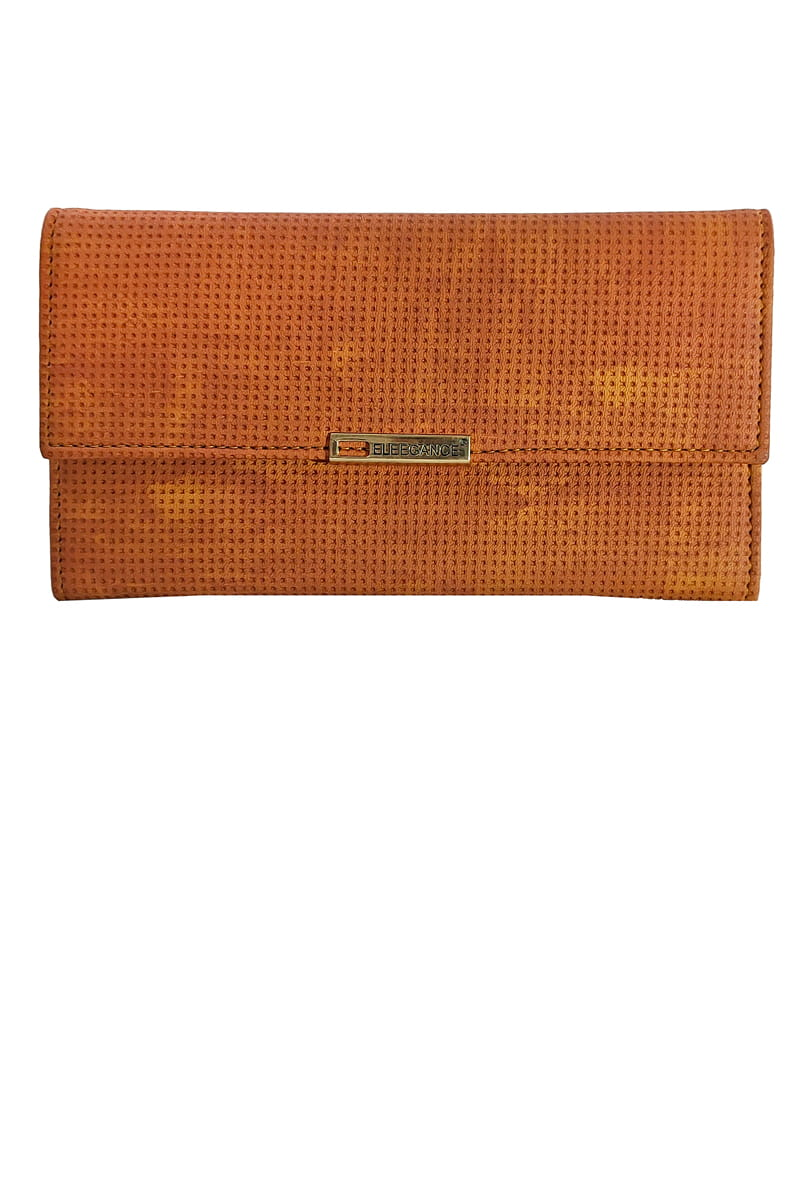 Eleegance Wood Brown Handclutch