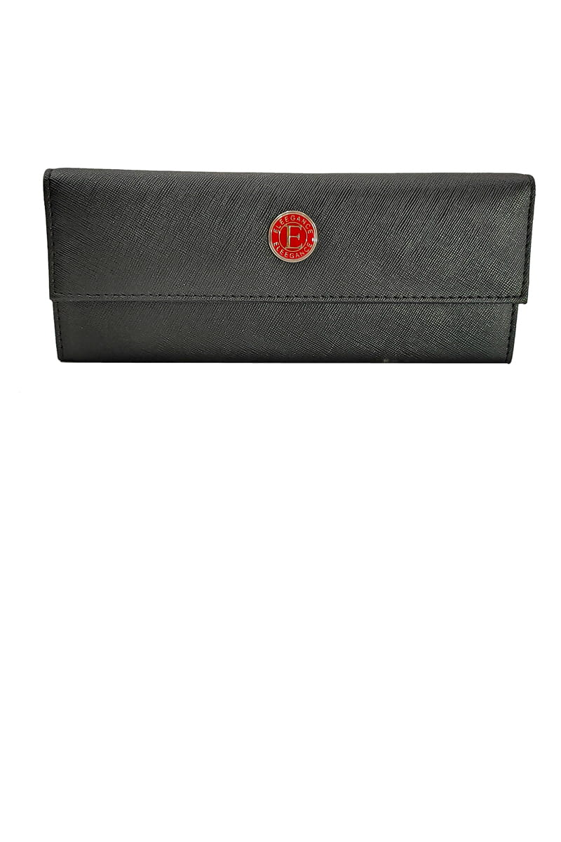 Eleegance Long Black Handclutch