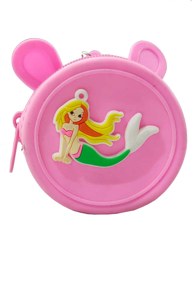 Pink Fairy Silicon Coin Bag