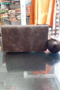 Brown Handmade clutch