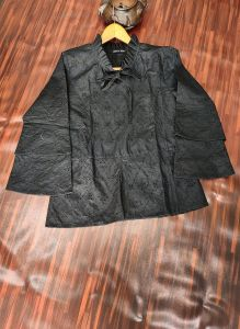 Black Chikenkari Top