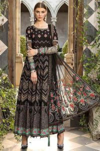 Lawn Cotton Black Pakistani Suit