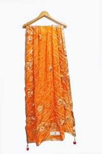 Gotta Work Orange Dupatta