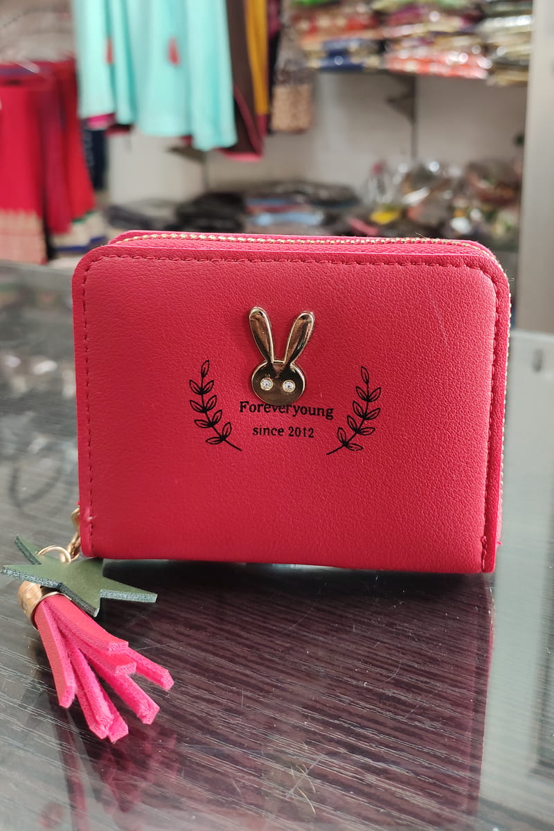 Handmade Small Red Color Clutch