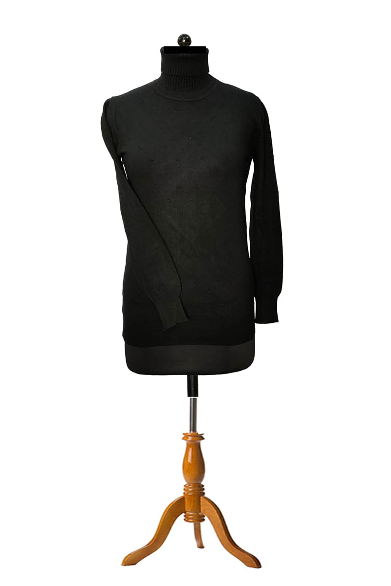 Pure Wool Black Top