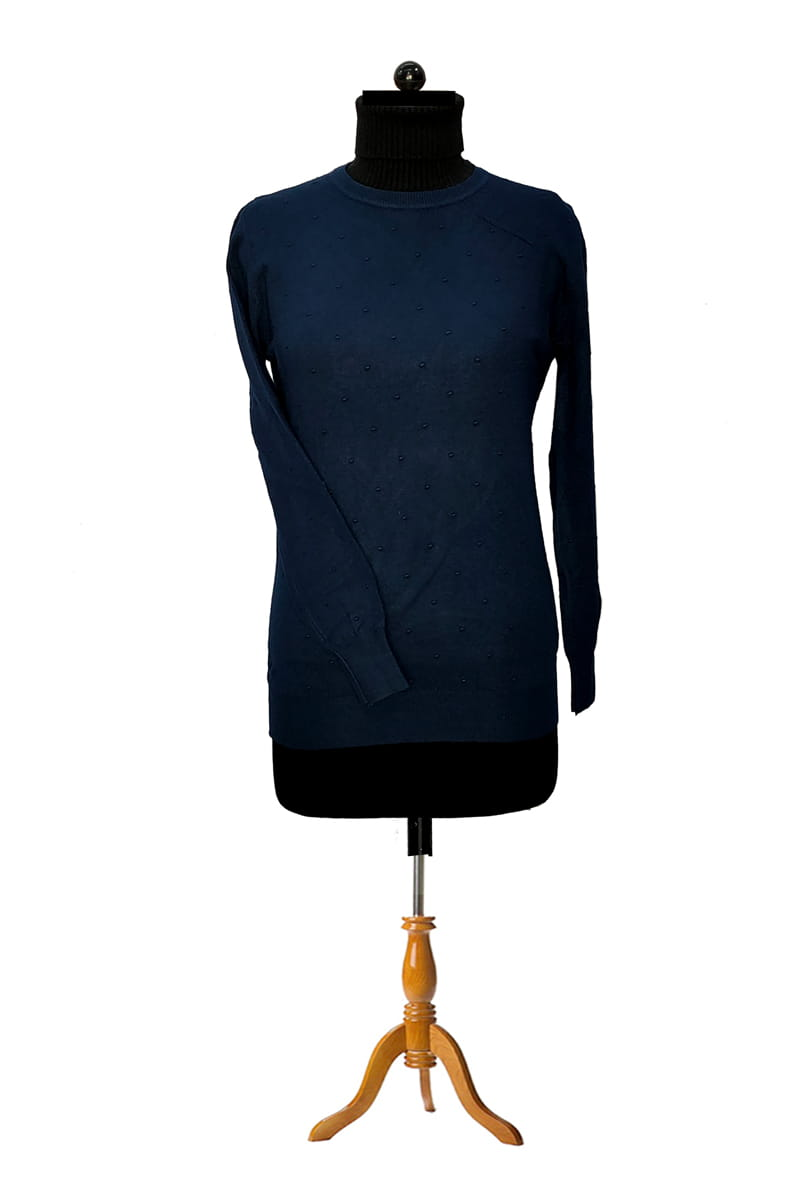 Pure Wool Blue Top
