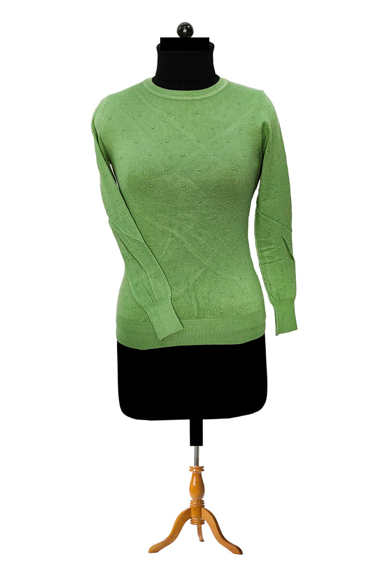 Pure Wool Green Top