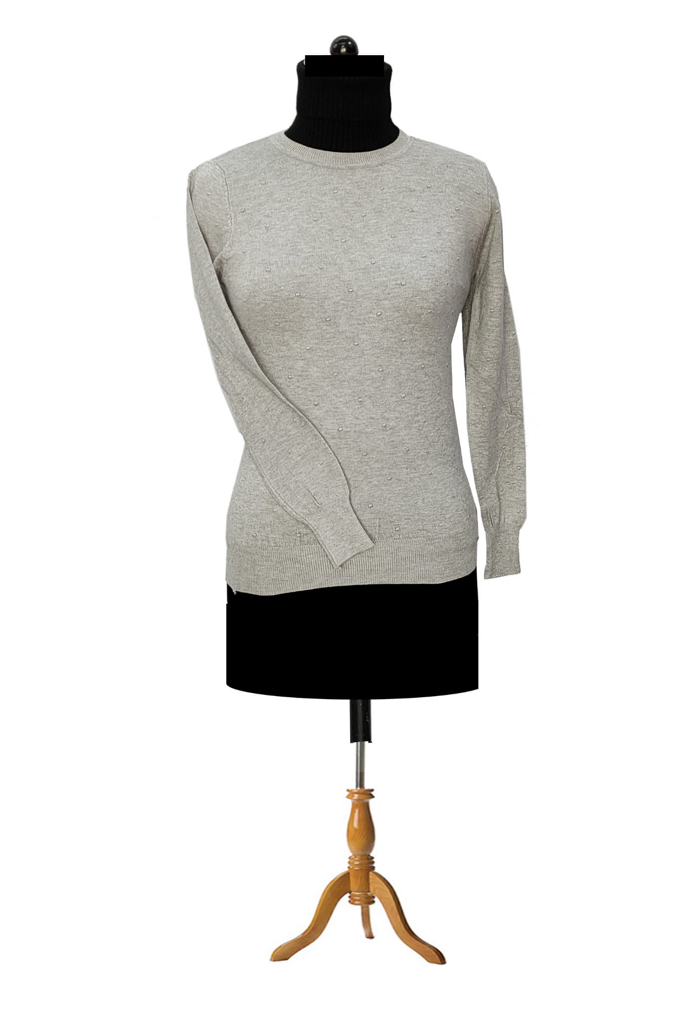 Pure Wool Grey Top