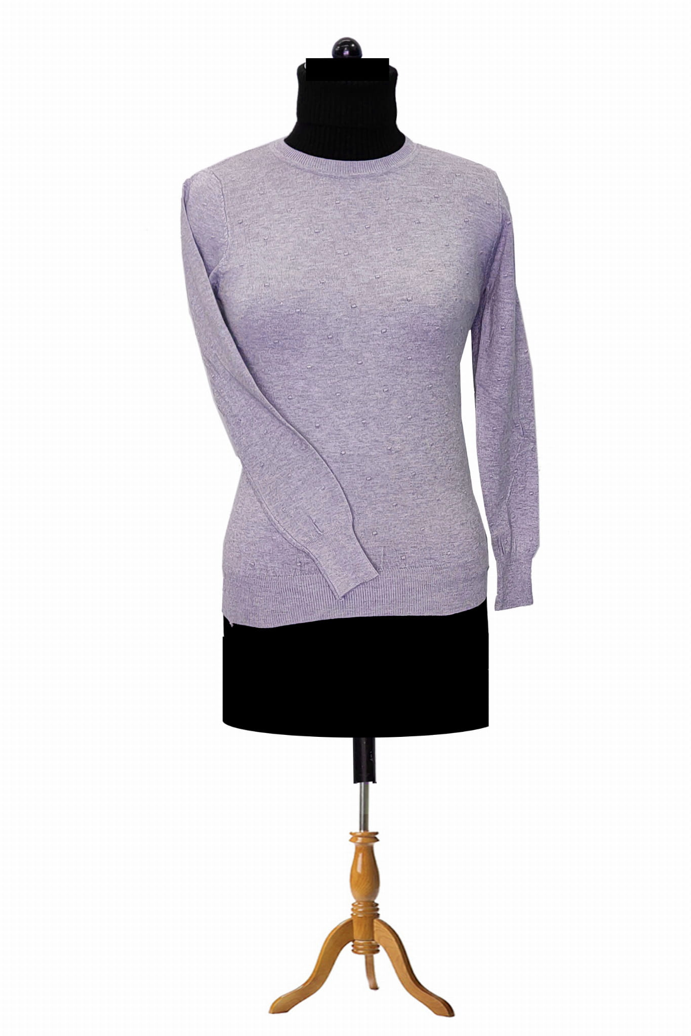 Pure Wool Purple Top
