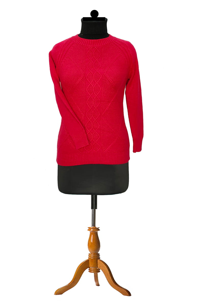 Pure Wool Red Top