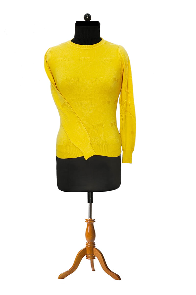 Pure Wool Yellow Top