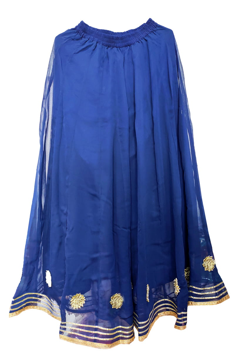 Blue Georgette Gotta Work Sharara