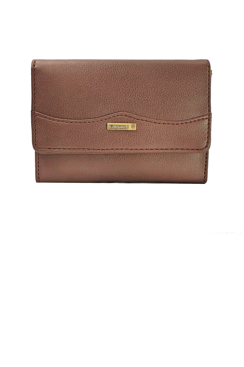 Eleegance Brown Small Hand Clutch
